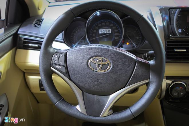 Chiêm ngưỡng mẫu xe Toyota Vios 2016 mới của Toyota Việt Nam (4).jpg