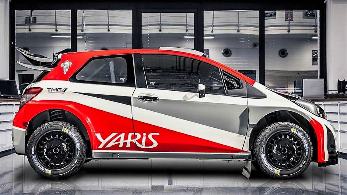 Chưa lộ diện, Toyota Yaris Gazoo đã khiến các đối thủ dè chừng