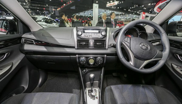 Phiên bản nâng cấp Exclusive của Toyota Vios chính thức lộ diện