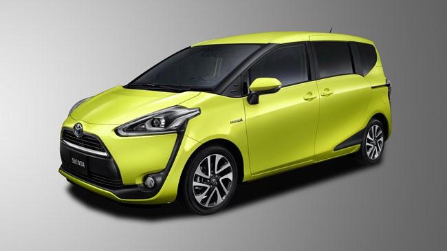 Toyota Sienta: Mẫu minivan với thiết kế thể thao