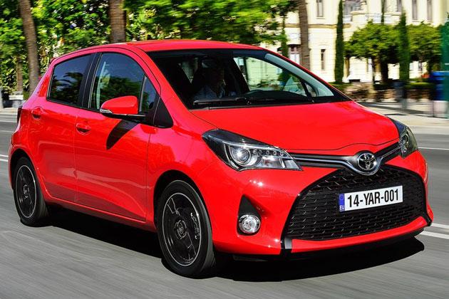 Toyota Yaris 2015 có giá bán 14.845 USD tại Mỹ