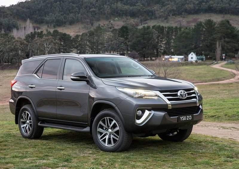 5 điểm nổi bật trên Toyota Fortuner 2017 nhập khẩu