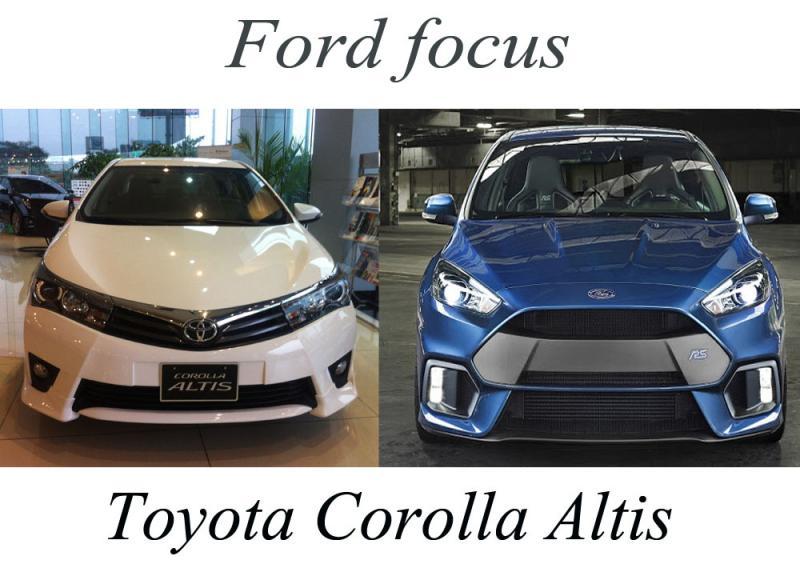 Toyota Corolla Altis và Ford Focus - Cuộc chơi của những kẻ dẫn đầu thị trường