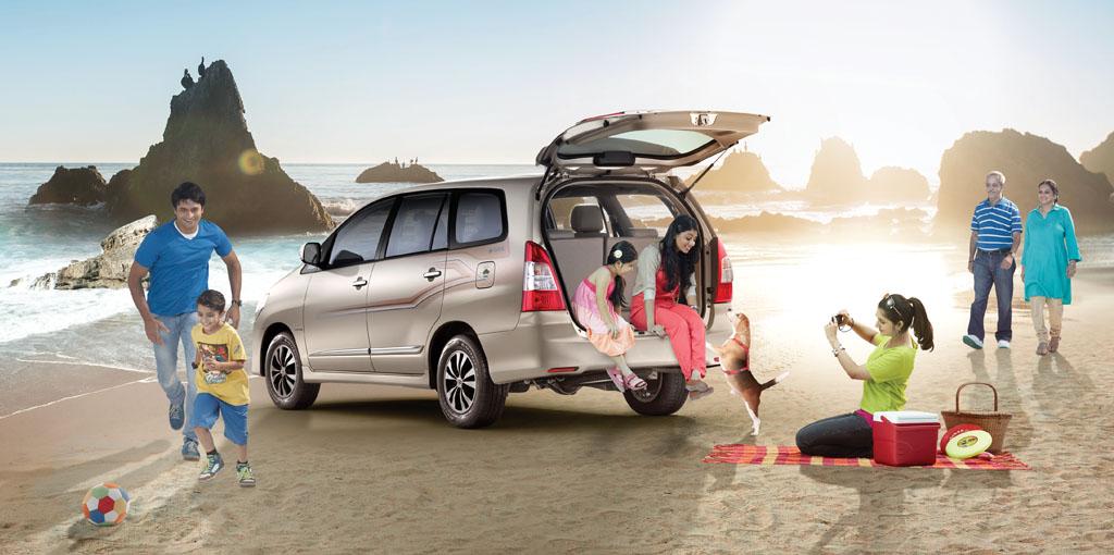 Toyota Innova: Chiếc xe lý tưởng cho đại gia đình