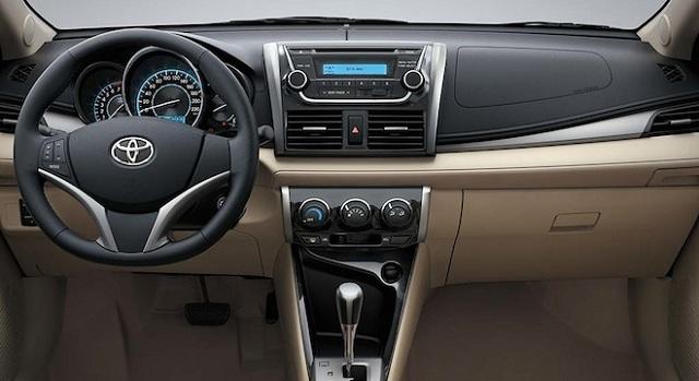 Các tiện nghi và tính năng an toàn của Toyota Vios 2017