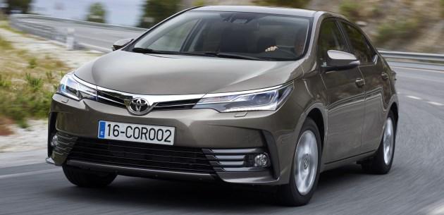 Chiêm ngưỡng tận mắt Toyota Corolla Altis 2017 với hai phiên bản