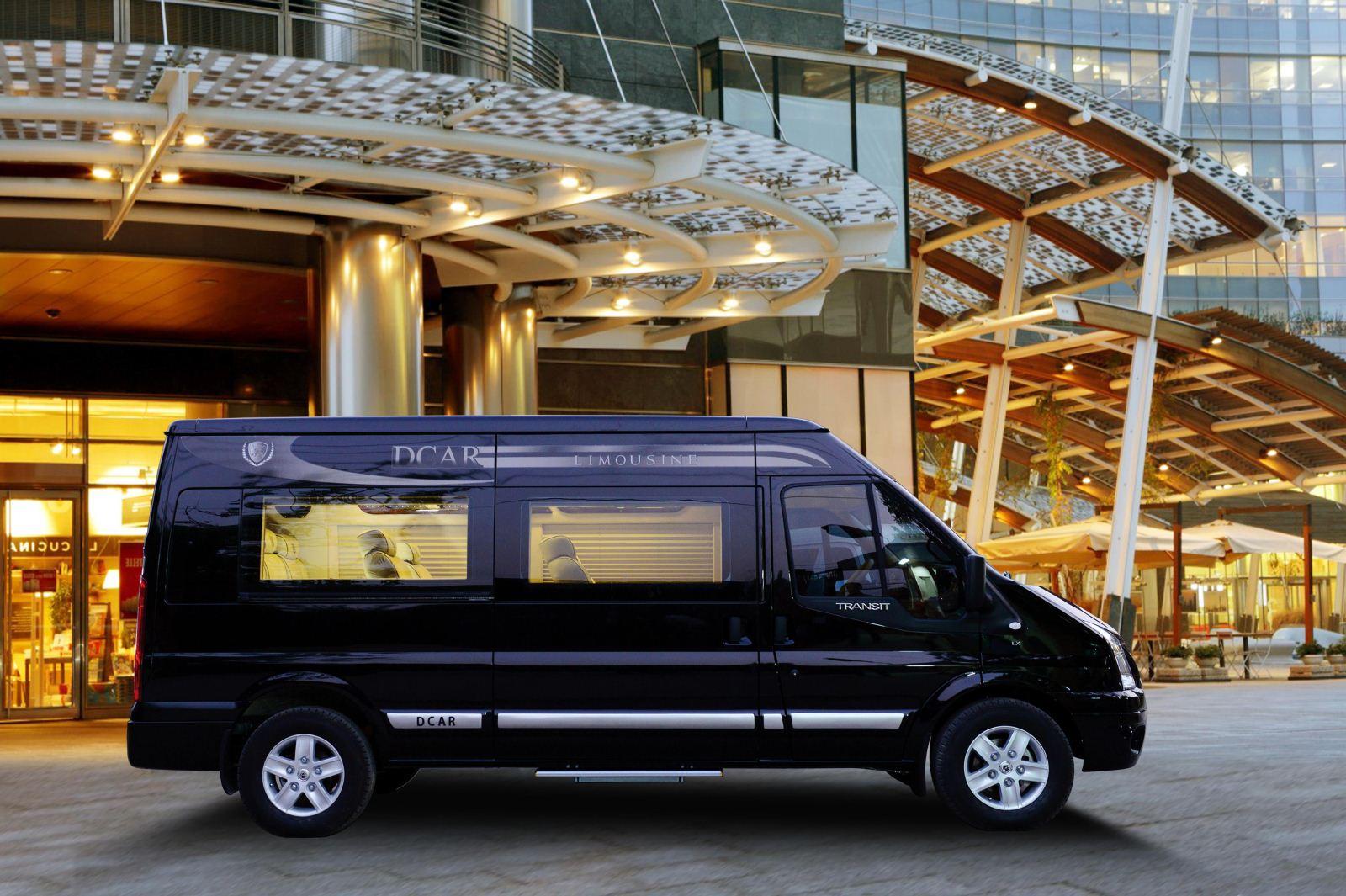 Chiêm ngưỡng Ford Transit phiên bản sang chảnh bậc nhất