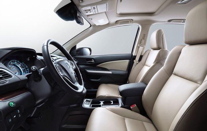 Đánh giá nội thất xe Hond CR-V 2016