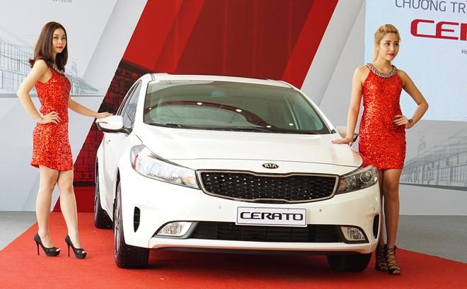 Doanh số của Kia Cerato và các đối thủ