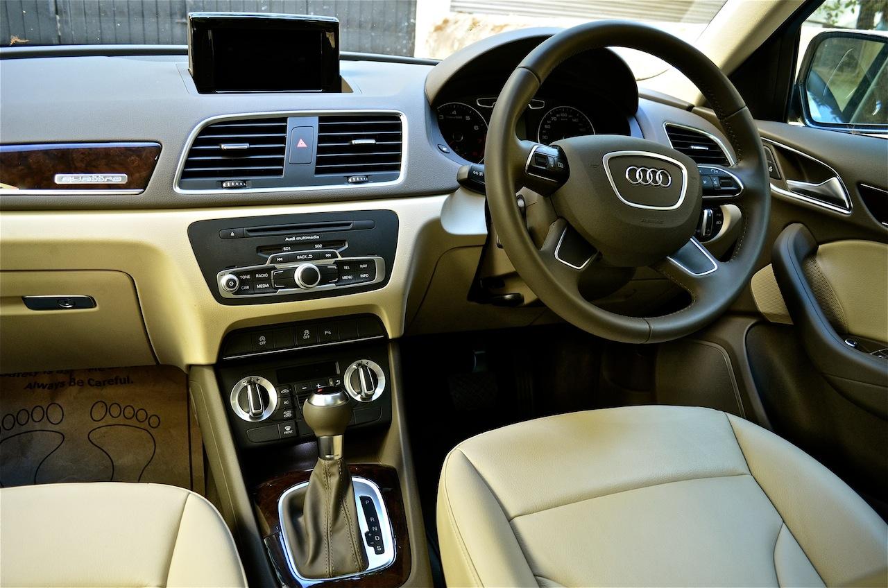 Audi Q3 2013 sự kết hợp hài hòa trong thiết kế