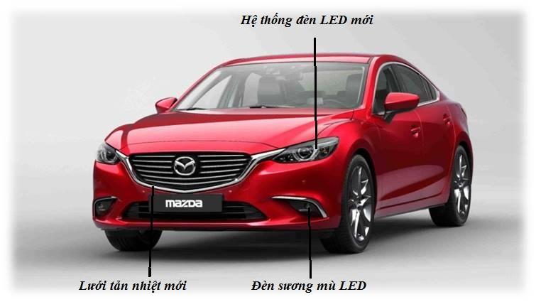 Giá Mazda 6 giảm giá sau 2 tháng ra mắt, cạnh tranh với các dòng xe sedan hạng D