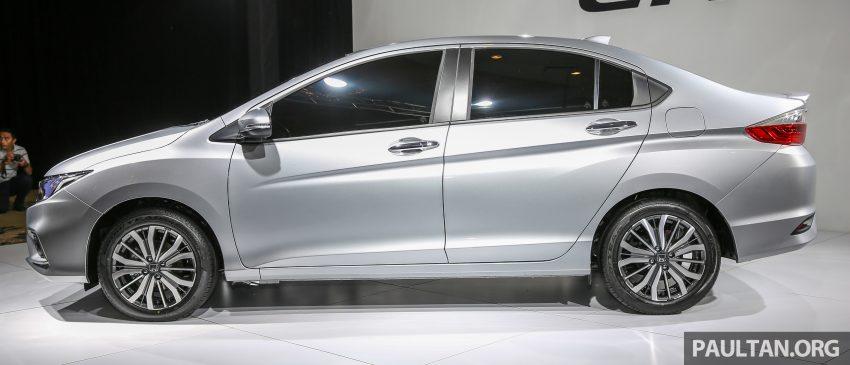 Honda City bản Facelift được hé lộ tại Malaysia