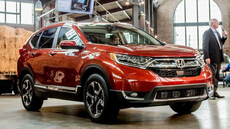 Honda CR-V 2017 lộ diện tại Thái Lan