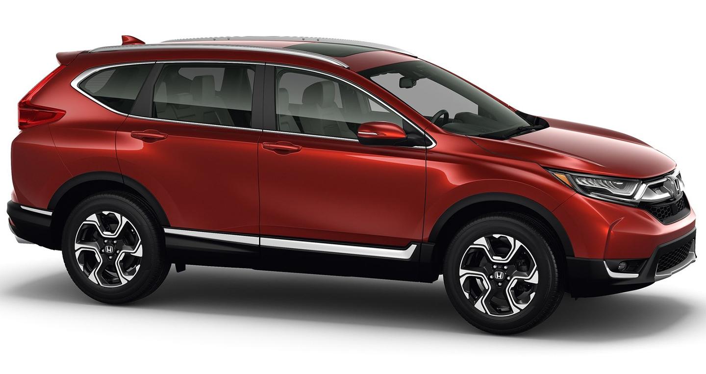 Honda CR-V 2017 – nội thất tiện nghi, công nghệ hiện đại