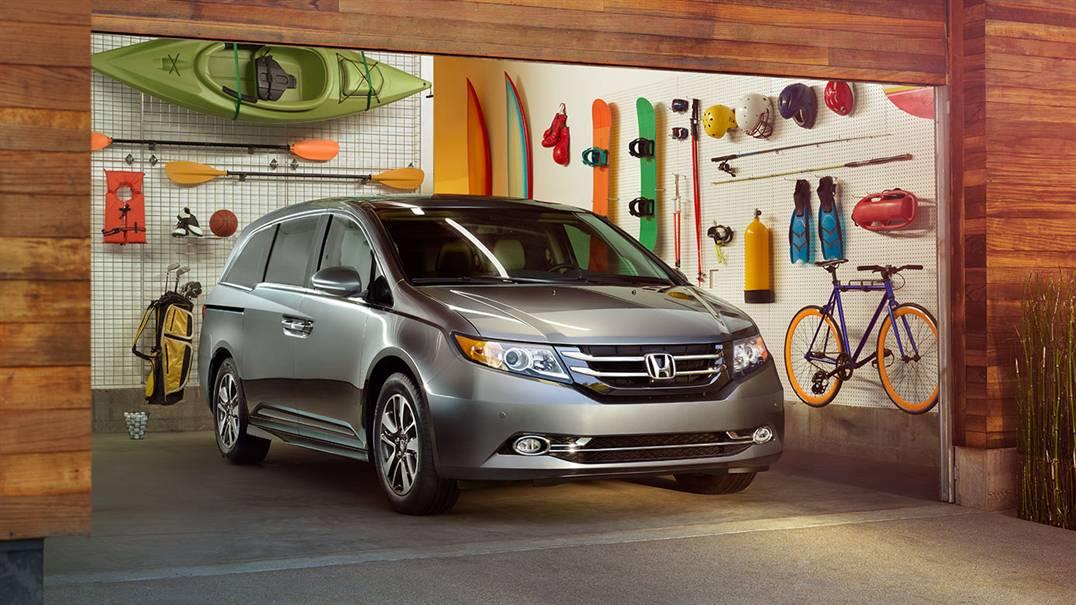 Honda Odyssey 2016 Touring Elite có gì mới
