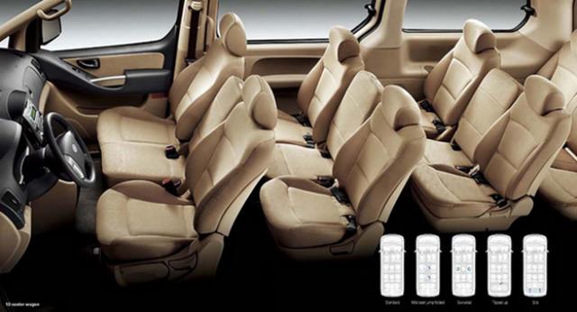 Hyundai Starex 2015 – chiếc xe 9 chỗ linh hoạt