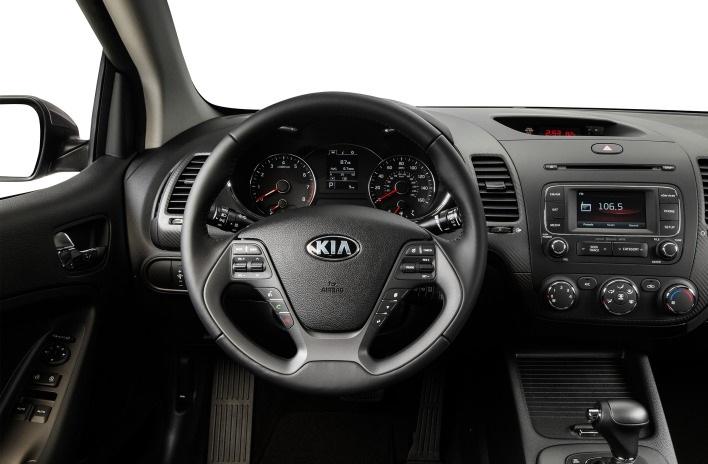 Kia Cerato 2015 sở hữu nội thất gì
