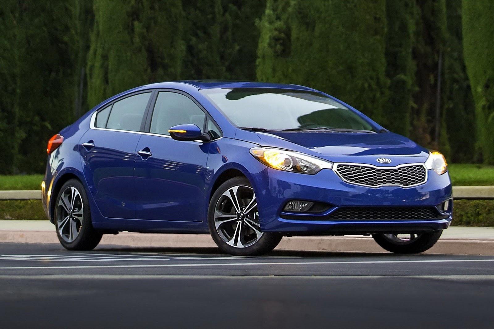 Kia Forte được đánh giá 5 sao về độ an toàn cho người dùng