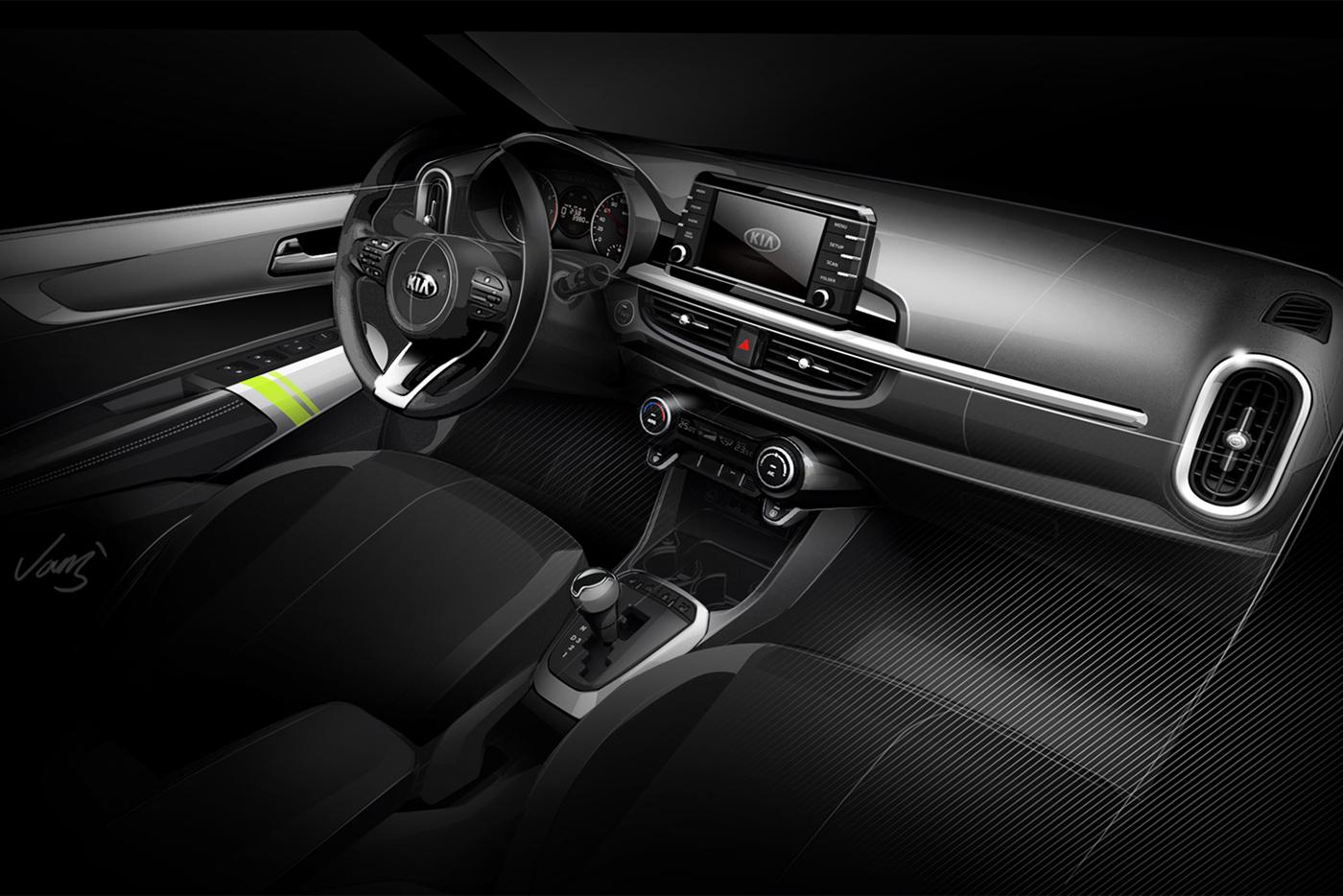 Nội thất của Kia Morning 2017 được trang bị hiện đại và ấn tượng