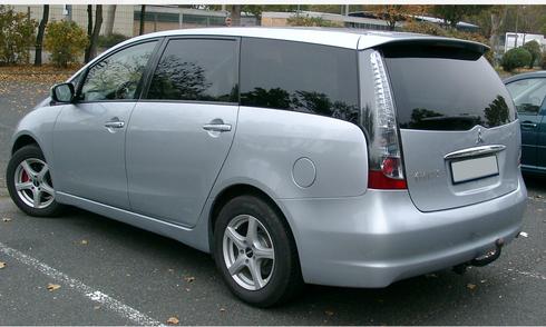 Mitsubishi Grandis 2006 khỏe khoắn với thiết kế thoáng rộng.jpg
