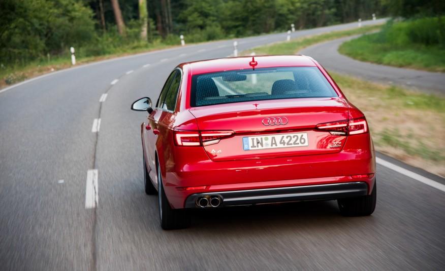 Ngoại thất của Audi A4 2017