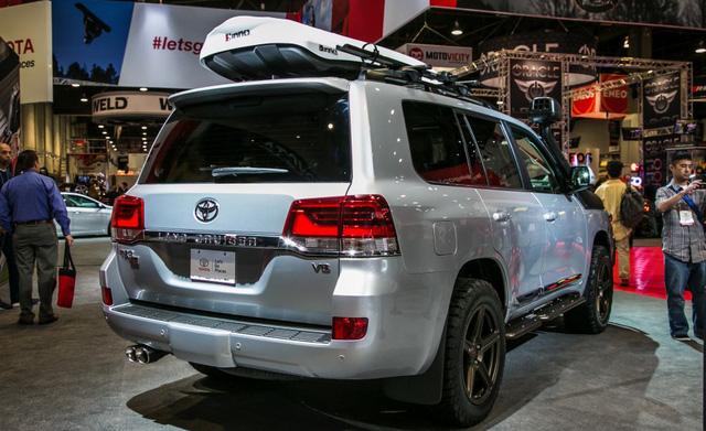 Ngoại hình cực chất của Toyota Land Cruiser TRD 2016 SEMA Edition