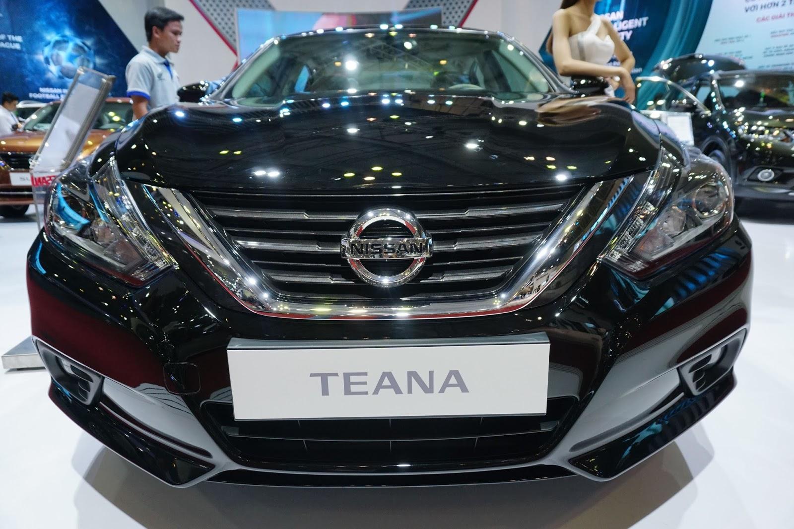 Nissan Teana: Sedan hạng trung tốt nhất