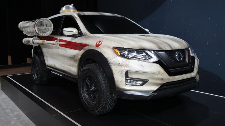 Nissan X-Trail hóa Rogue One tại Chicago Auto Show