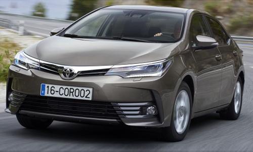 Toyota Corolla Altis 2017 bản nâng cấp ra mắt tại Malaysia
