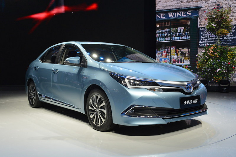 Toyota Corolla Altis Hybrid lộ diện tại Trung Quốc