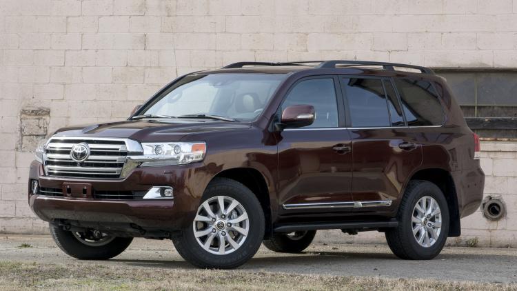 Toyota Land Cruiser 2015 - mẫu SUV điềm đạm và chững chạc