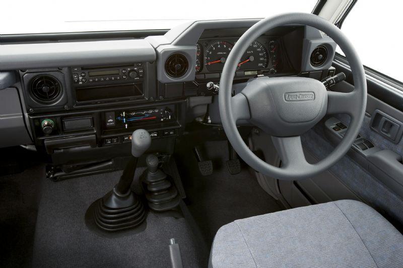 Toyota Land Cruiser 70 thế hệ mới 2017 với trang bị an toàn đạt chuẩn